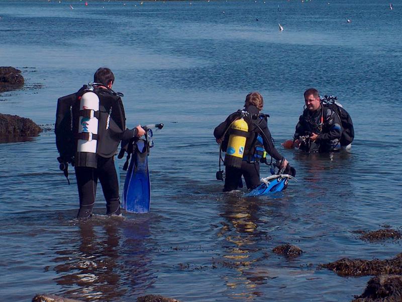 водолазное обследование акватории Санкт-Петрбург