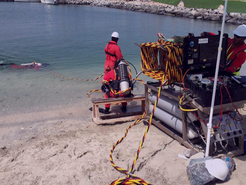 водолазное обследование акватории спб