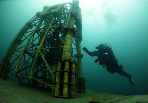 Подводные строительные работы