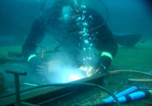 Подводная резка