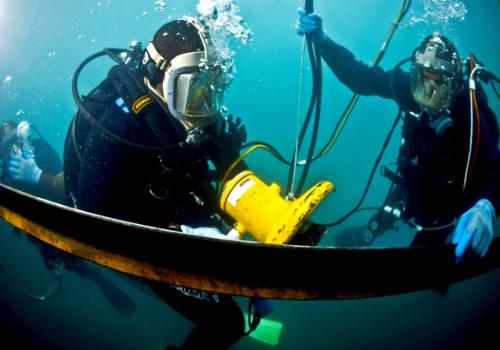 подводные демонтажные работы