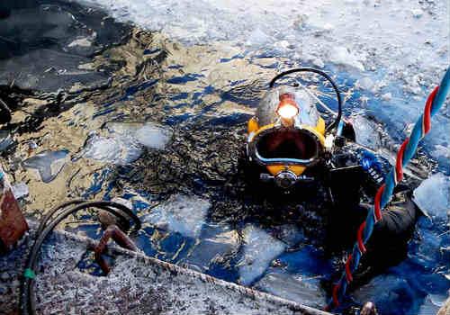 водолазные буровзрывные работы